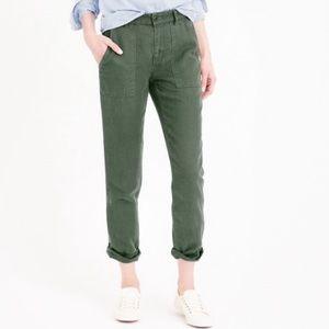 J. Crew linen pants